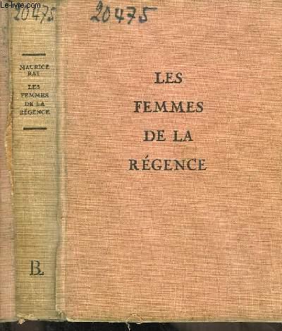Les Femmes de la Régence.