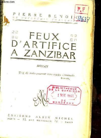 Feux d'Artifice à Zanzibar. Roman