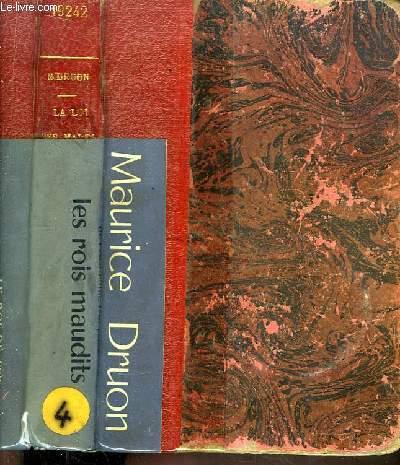 Les Rois Maudits. 4ème volume : La Loi des Males. 1316 - 1317