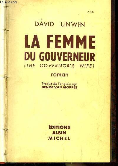 La femme du gouverneur (the governor s wife)