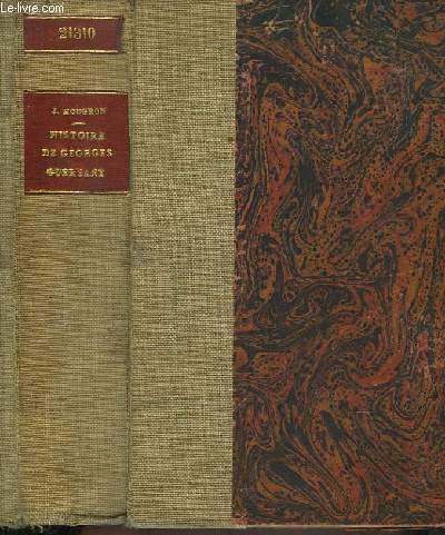 Histoire de Georges Guersant. Roman.