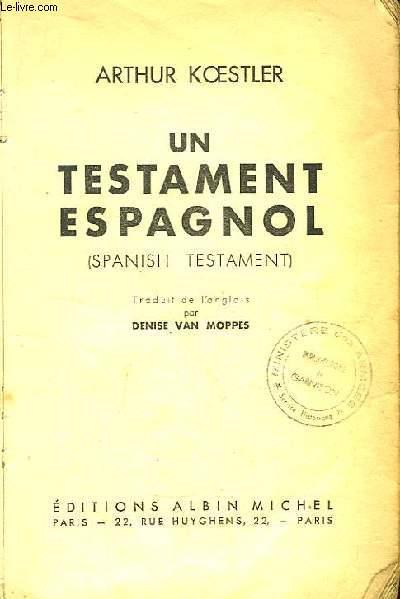 Un Testament Espagnol (Spanish Testament)