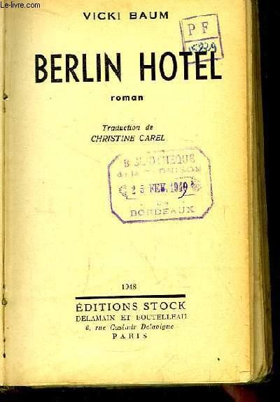 Berlin Hotel.
