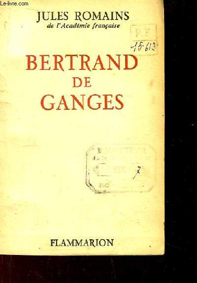 Bertrand de Ganges.
