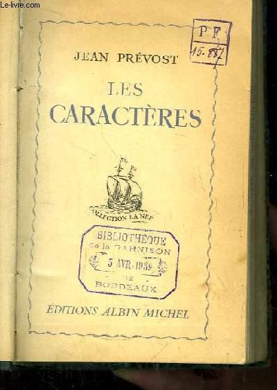 Les Caractères.