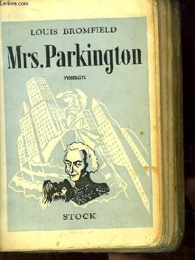 Mrs Parkington.
