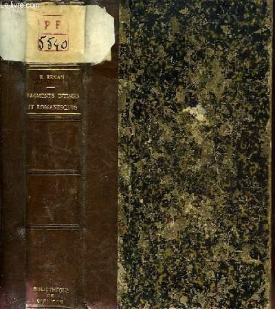 Fragments intimes et romanesques.