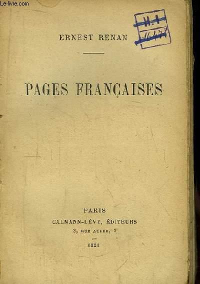 Pages Françaises.