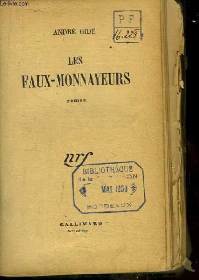 Les Faux-Monnayeurs. Roman.