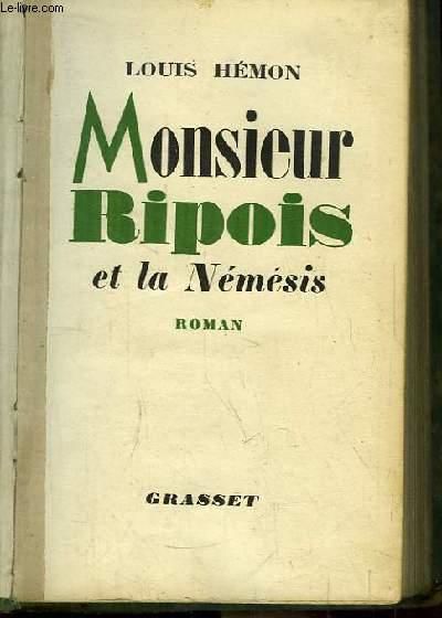 Monsieur Ripois et la Némésis.