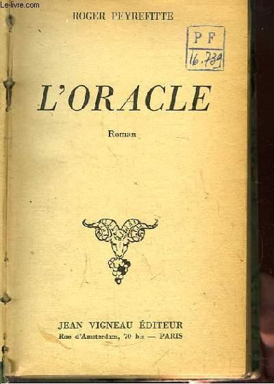 L'Oracle. Roman