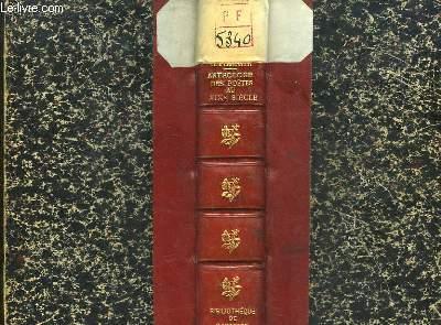 Anthologie des Poètes du XIXe siècle. 1800 - 1866