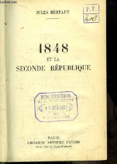 1848 et la Seconde République.