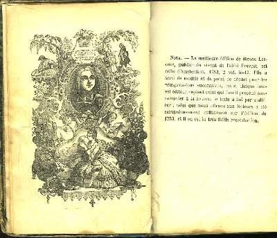 Histoire de Manon Lescaut.