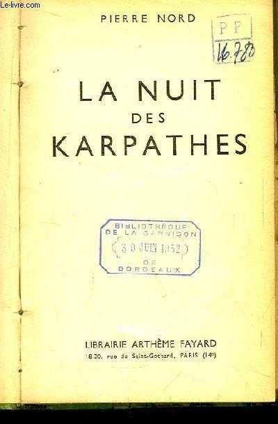La nuit des Karpathes.
