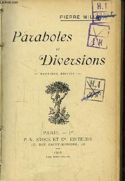 Paraboles et Diversions.
