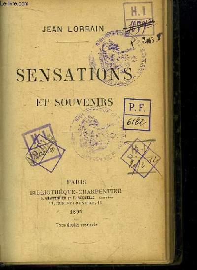 Sensations et Souvenirs.