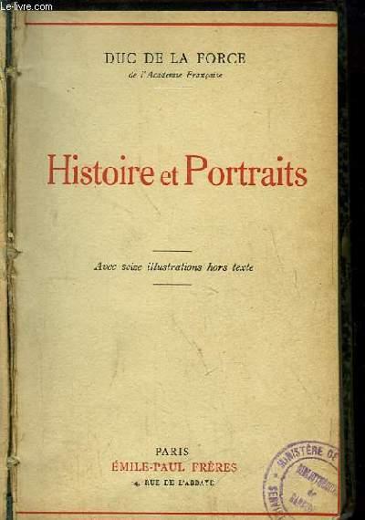 Histoire et Portraits.
