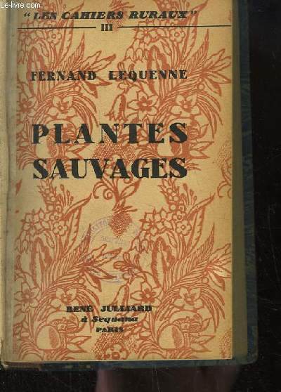 Plantes Sauvages.