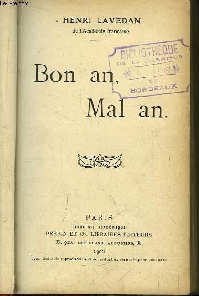 Bon an, Mal an.