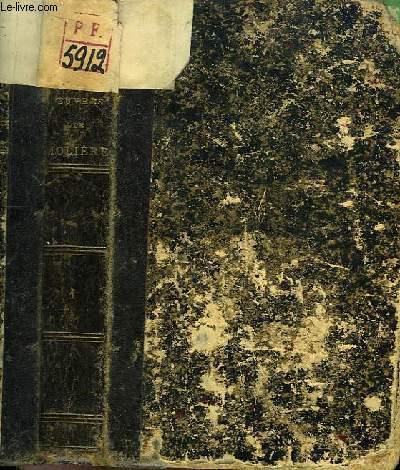 Oeuvres Complètes de Molière. TOME 1er : La Jalousie du Barbouillé, L'Etourdi, Le dépit amoureux, Sganarelle, Don Garcie de Navarre, L'Ecole des Maris, Les Facheux, L'Ecole des Femmes, Le Mariage forcé ....