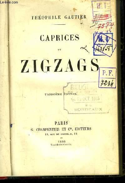 Caprices et Zigzags.