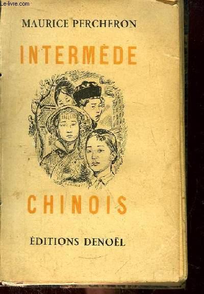 Intermède Chinois.
