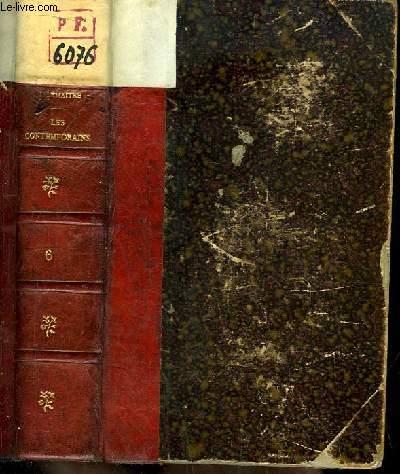 Les Contemporains. Etudes et portraits littéraires. 6ème série : Louis Veuillot, Lamartine, Influence récente des Littératures du Nord, Figurines, Maupassant, Anatole France.