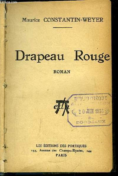 Drapeau Rouge. Roman