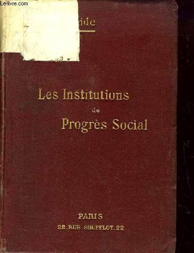Les Institutions de Progrès Social.