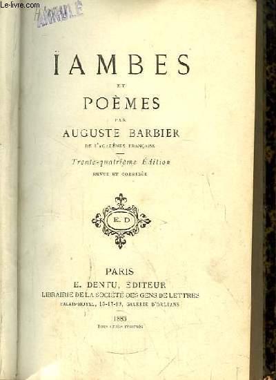 Ïambe et Poèmes.