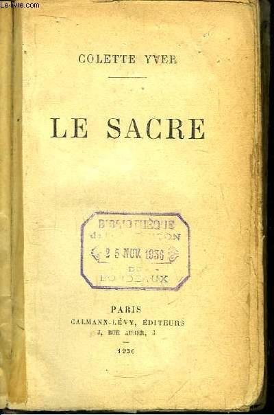 Le Sacre