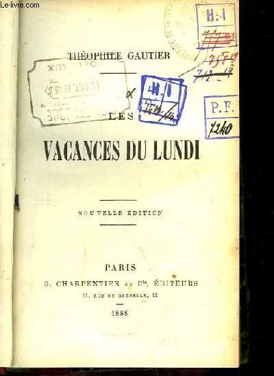 Les Vacances du Lundi.