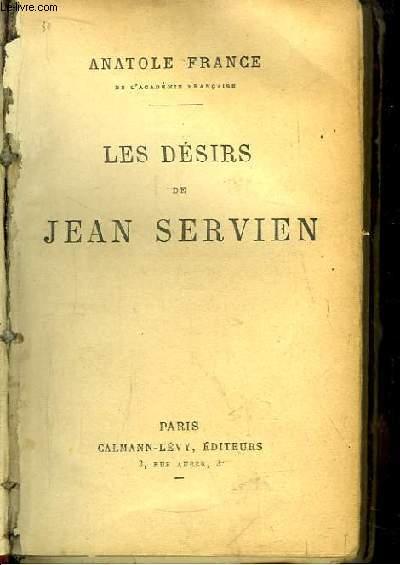 Les Désirs de Jean Servien.