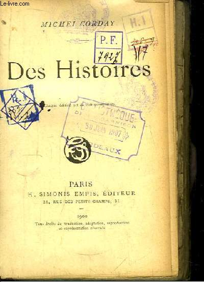 Des Histoires.