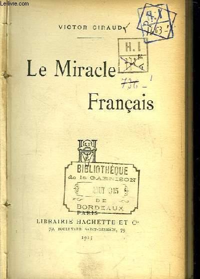 Le Miracle Français.
