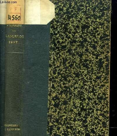 Lancelot 1937. Défense de la Langue Française.