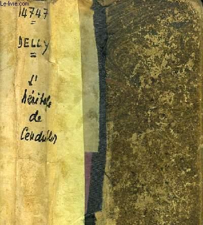 L'héritage de Cendrillon. Roman.