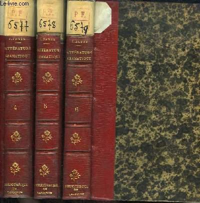 Histoire de la Littérature Dramatique. TOMES 4, 5 et 6