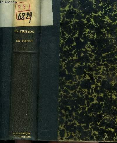 Le Frisson de Paris.