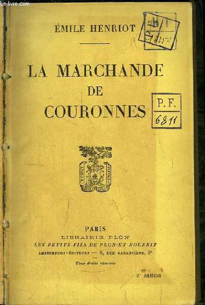 La Marchande de Couronnes.