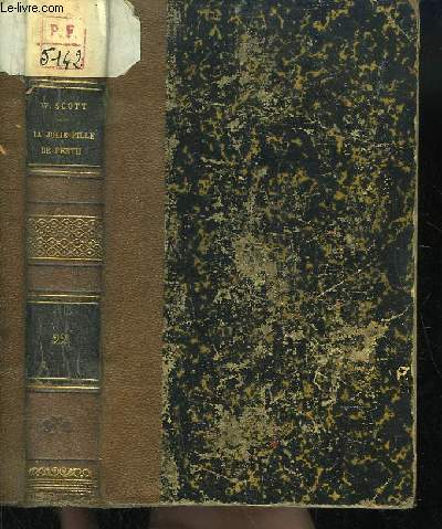 Oeuvres de Walter Scott. TOME 22 : La Jolie Fille de Perth.