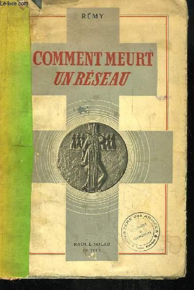 Comment meurt un Réseau (Fin 1943)