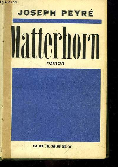 Matterhorn. Roman