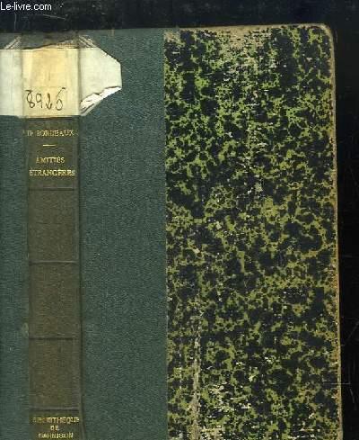 Amitiés Etrangères (Voyages et Rencontres).