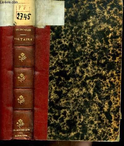 Voltaire, avant et pendant la Guerre de sept ans.