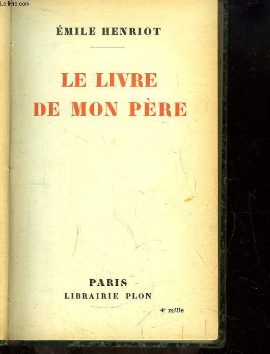 Le Livre de mon Père.