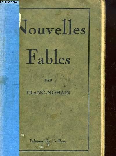 Nouvelles Fables (Livres X, XI, XII)