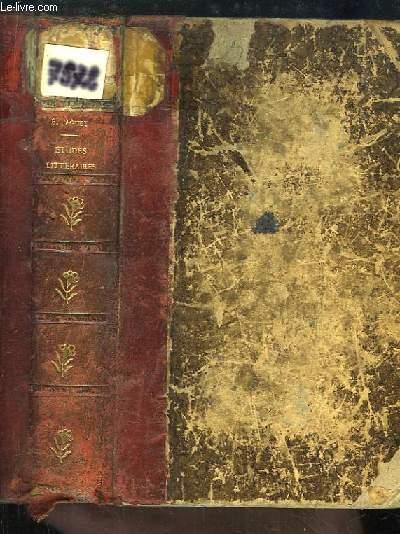 Seizième Siècle. Etudes Littéraires. Commynes, Clément Marot, Rabelais, Calvin, Ronsard, Du Bellay, D'Aubigné, Montaigne.