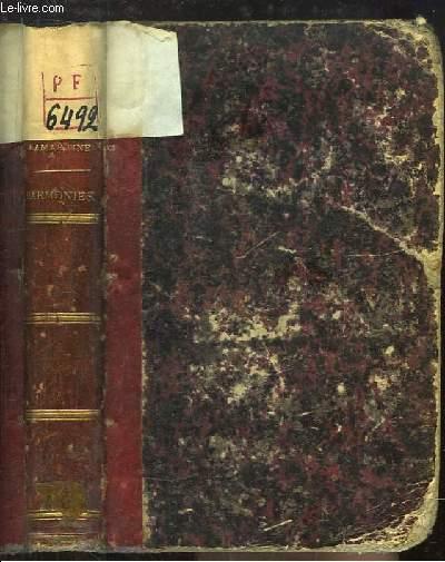 Oeuvres de Lamartine. Harmonies poétiques et religieuses.